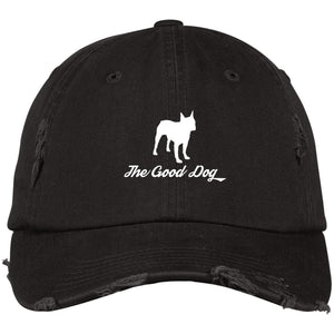 d2403a2b3e6 Boston Terrier Distressed Dad Cap