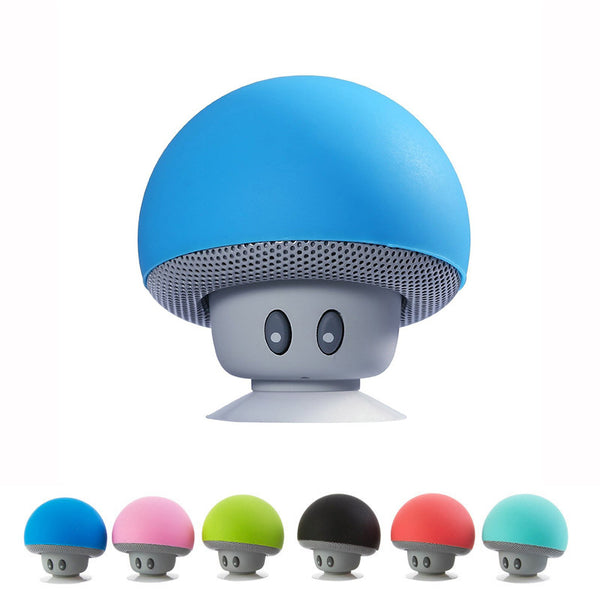 Portable Mini Mushroom Bluetooth Speaker -