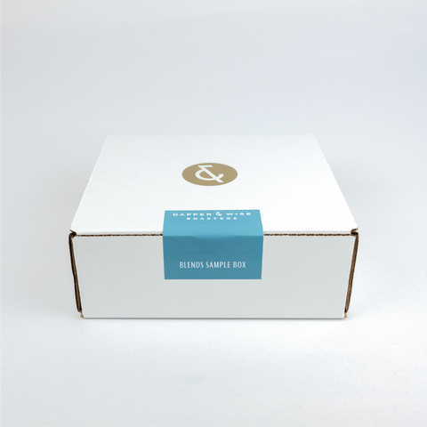 Blends Coffee Sample Box