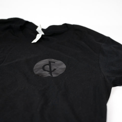 Black Ampersand Tee