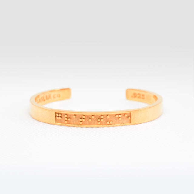 Feel - Gold Bangle