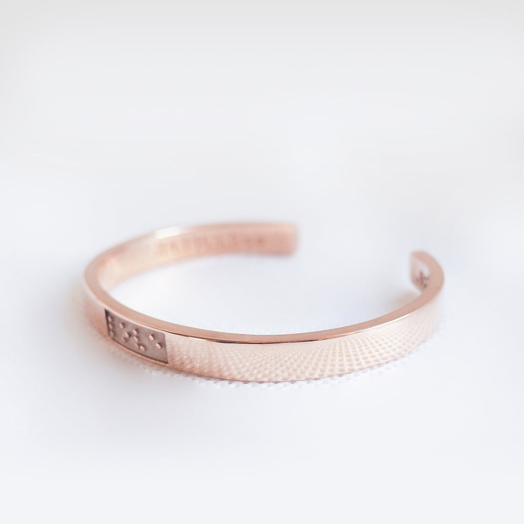 "Feel - Rose Bangle ""Love"""