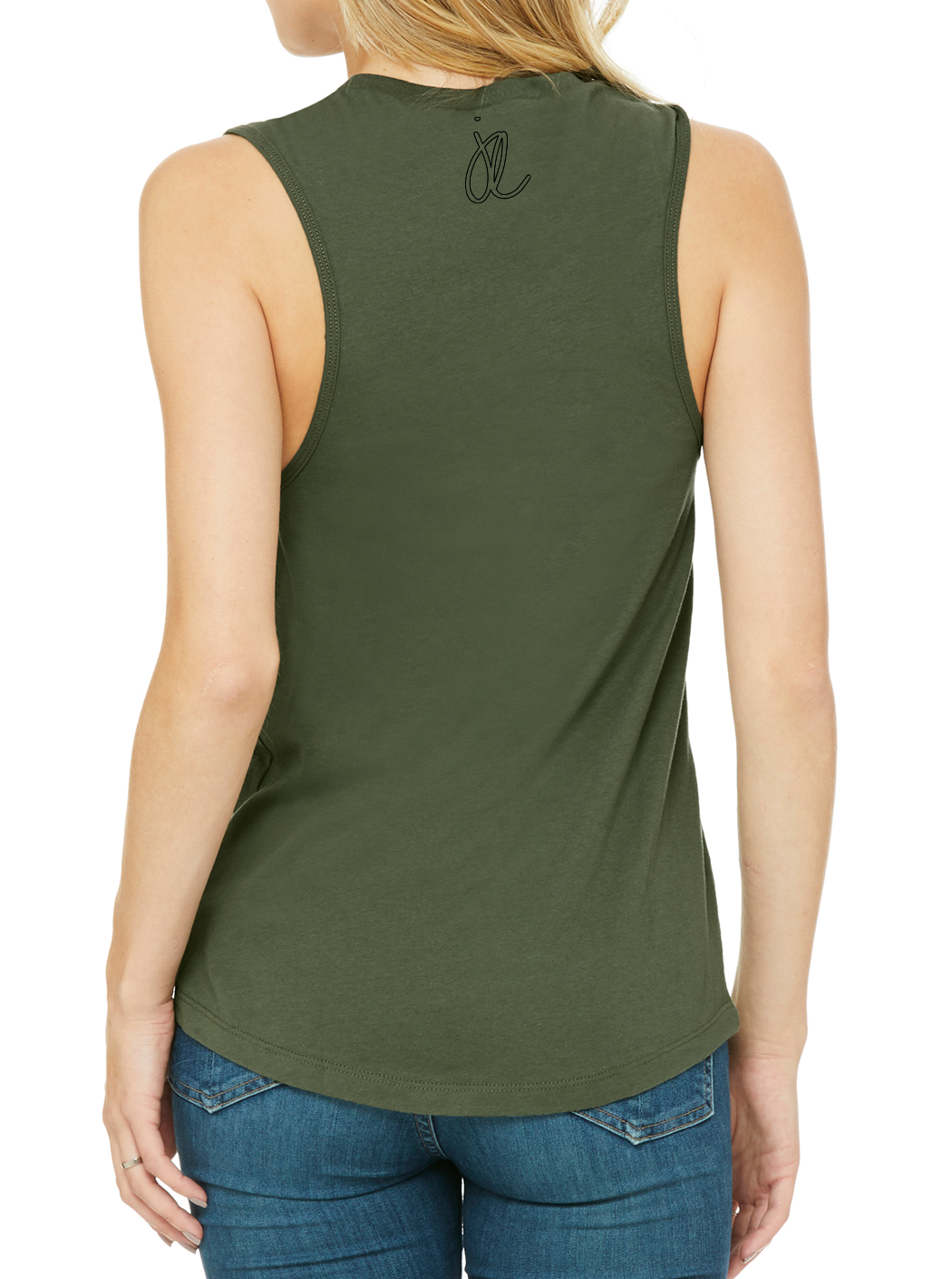 LABELS Women's Jersey Muscle Tank
