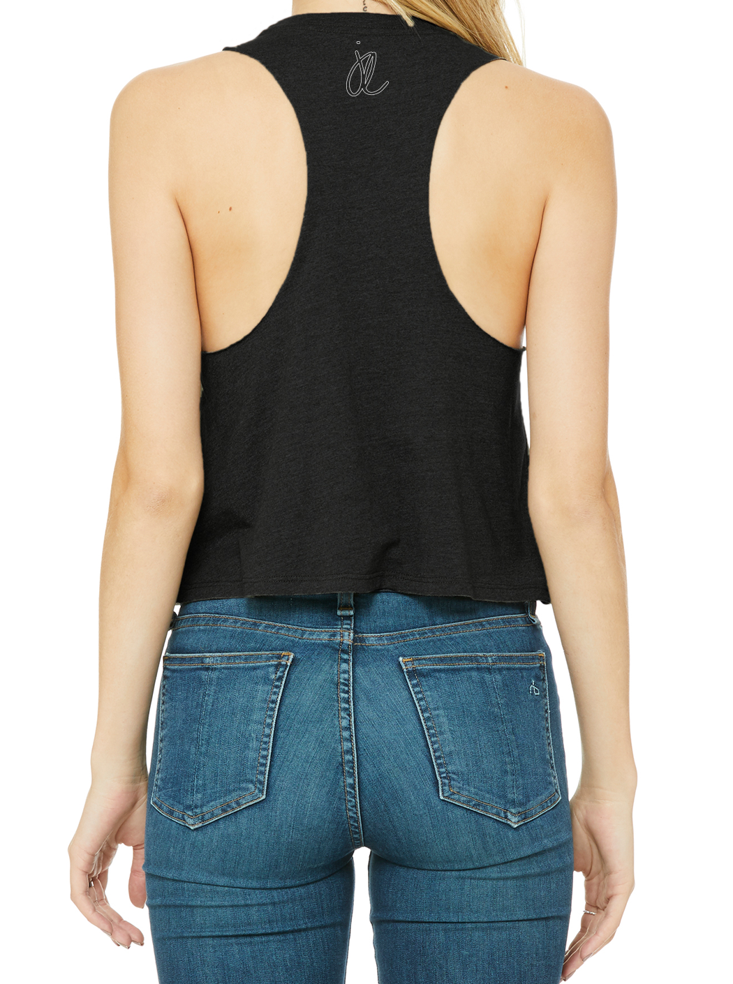 EXPECTATIONS Women's Racerback Cropped Tank