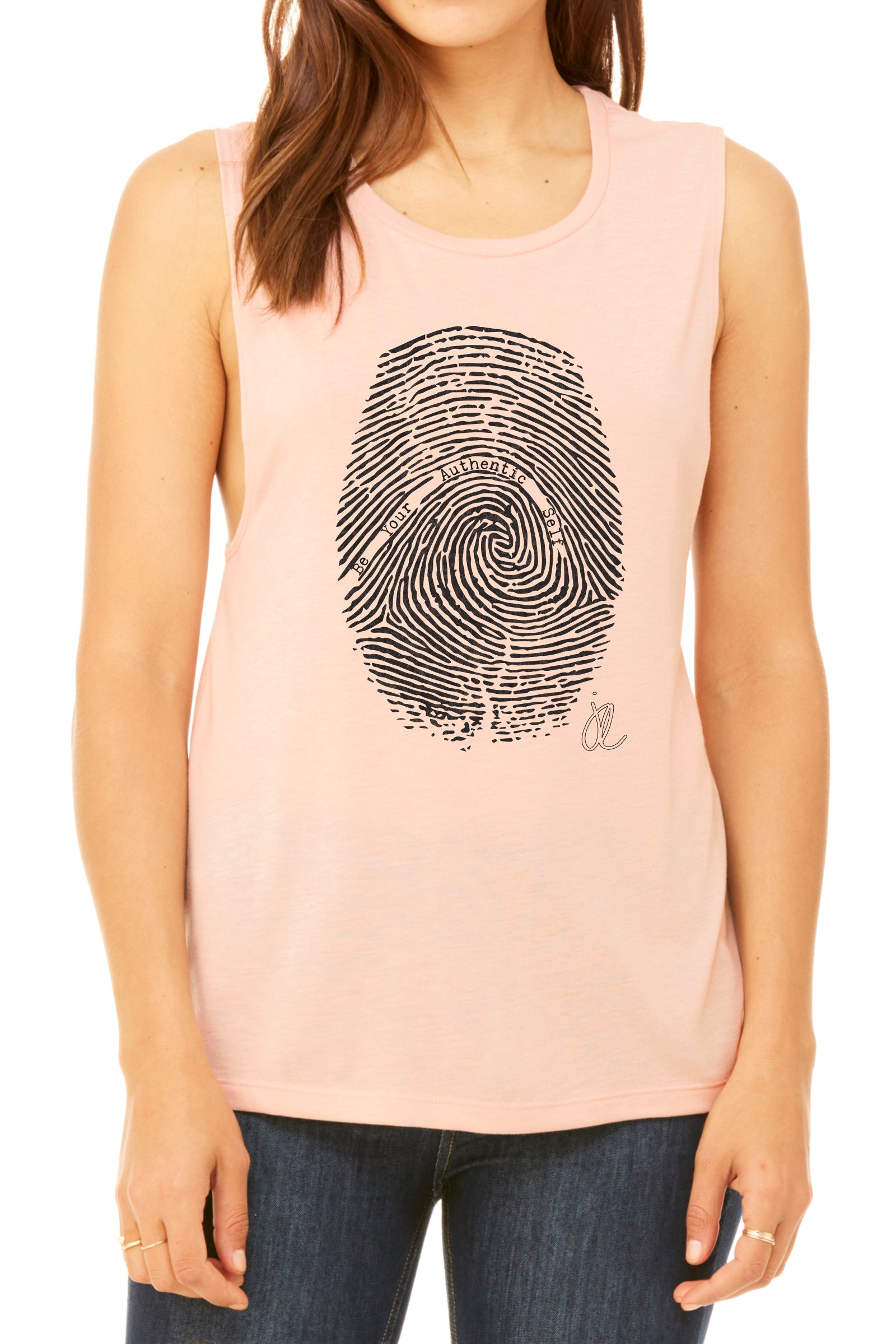 FINGER PRINT Women's Scoop Muscle