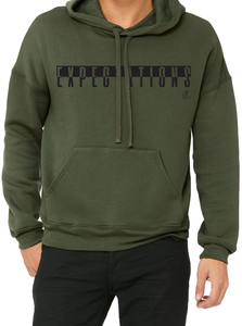 EXPECTATIONS Men's Fleece Pullover Hood (Unisex)