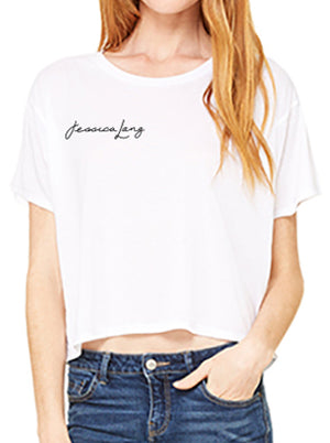 SIGNATURE Women's Flowy Crop Tee
