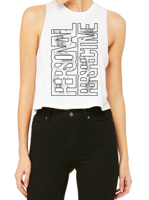 PERSPECTIVE Women's Racerback Cropped Tank