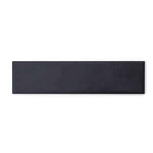 Manhattan Charcoal modern matte ceramic subway & candlestick tile for residential and commercial bathroom and kitchen backsplash imported from Spain, Cevica Manhattan Black available from TilesInspired Canada's Online Tile Store delivering across Ontario and Quebec, including Toronto, Montreal, Ottawa, London, Windsor, Kitchener, Muskoka, Barrie, Kingston, Hamilton, and Niagara tile idea
