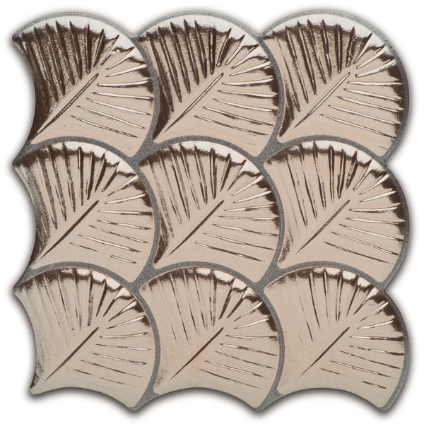 Tilesinspired Fish Scale And Scallop Tiles Scallop Gold