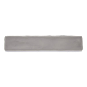 Candlestick Deep Grey modern glossy ceramic subway & candlestick tile for residential bathroom and kitchen backsplash imported from Spain, Cevica Rustic Grey available from TilesInspired Canada's Online Tile Store delivering across Ontario and Quebec, including Toronto, Montreal, Ottawa, London, Windsor, Kitchener, Muskoka, Barrie, Kingston, Hamilton, and Niagara tile idea