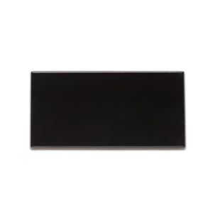 Subway Black timeless glossy ceramic subway & candlestick tile for residential and commercial bathroom and kitchen backsplash imported from Spain, Equipe Evolution Negro available from TilesInspired Canada's Online Tile Store delivering across Ontario and Quebec, including Toronto, Montreal, Ottawa, London, Windsor, Kitchener, Muskoka, Barrie, Kingston, Hamilton, and Niagara decoration idea