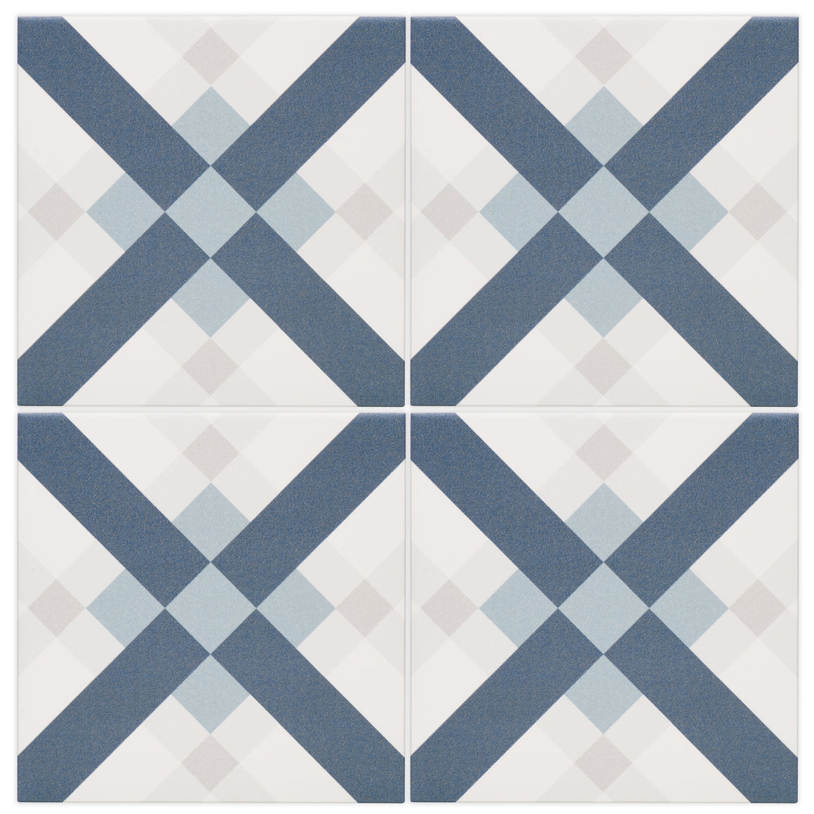 Tesseract Blue, Grey, White modern matte porcelain decorative pattern tile for residential bathroom and kitchen floor imported from Italy, Self more decor 4 available from TilesInspired Canada's Online Tile Store delivering across Ontario and Quebec, including Toronto, Montreal, Ottawa, London, Windsor, Kitchener, Muskoka, Barrie, Kingston, Hamilton, and Niagara decoration idea