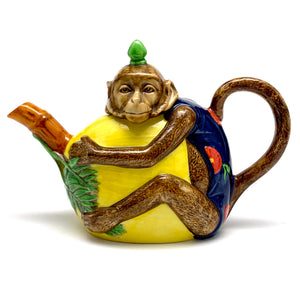 Load image into Gallery viewer, MINTON Monkey Teapot