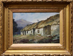 Henry - Thatched Cottage - Oil on Canvas Mounted on Board