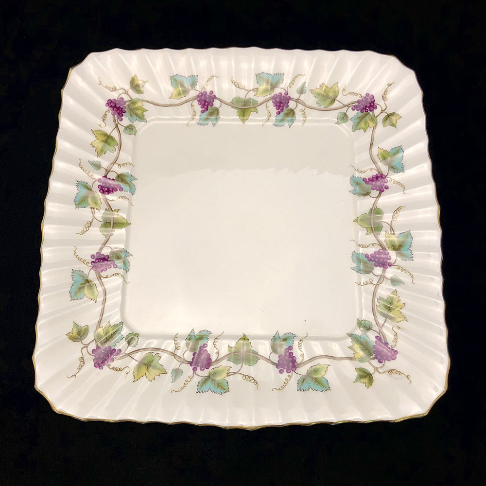 ROYAL WORCESTER Bacchanal Square Plate