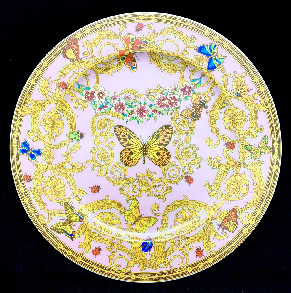 Load image into Gallery viewer, ROSENTHAL VERSACE Butterfly Garden Plate