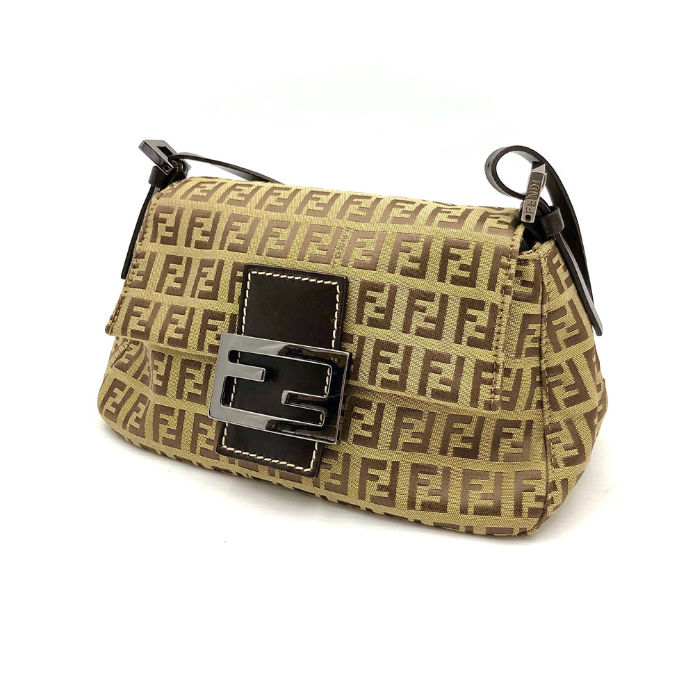 Load image into Gallery viewer, FENDI Mini Mama Zucchino Baguette