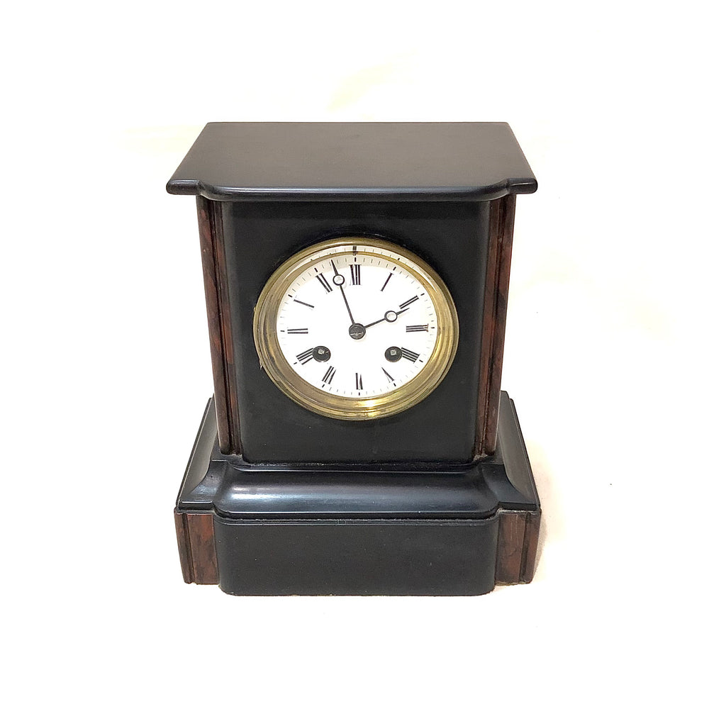 JAPY FRERES Slate Mantle Clock