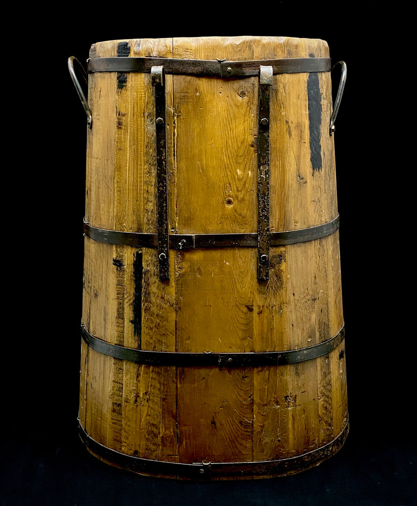Vintage Wooden Barrel