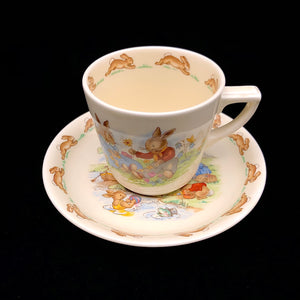 Load image into Gallery viewer, ROYAL DOULTON Bunnykins Cup & Saucer
