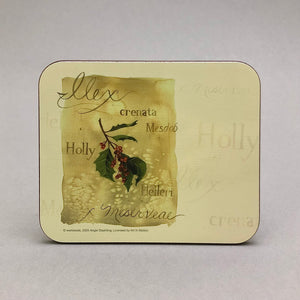 Load image into Gallery viewer, JASON Festive Holly Coasters - Set of 6 With Box