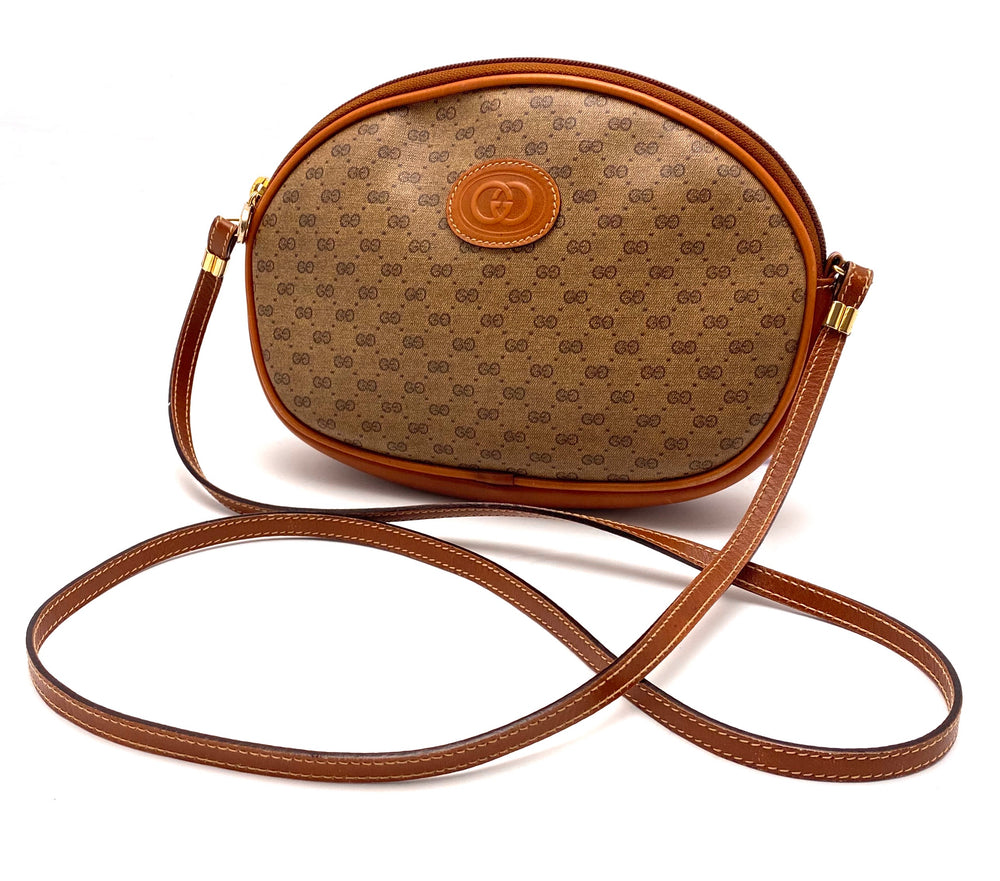 GUCCI Vintage Monogram Crossbody