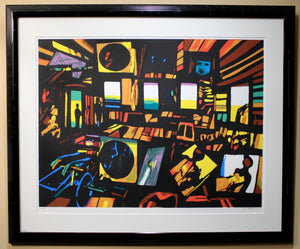 John Hultberg - Party - Serigraph