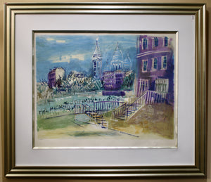 Load image into Gallery viewer, Jean Dufy - Montmarte  - Lithograph
