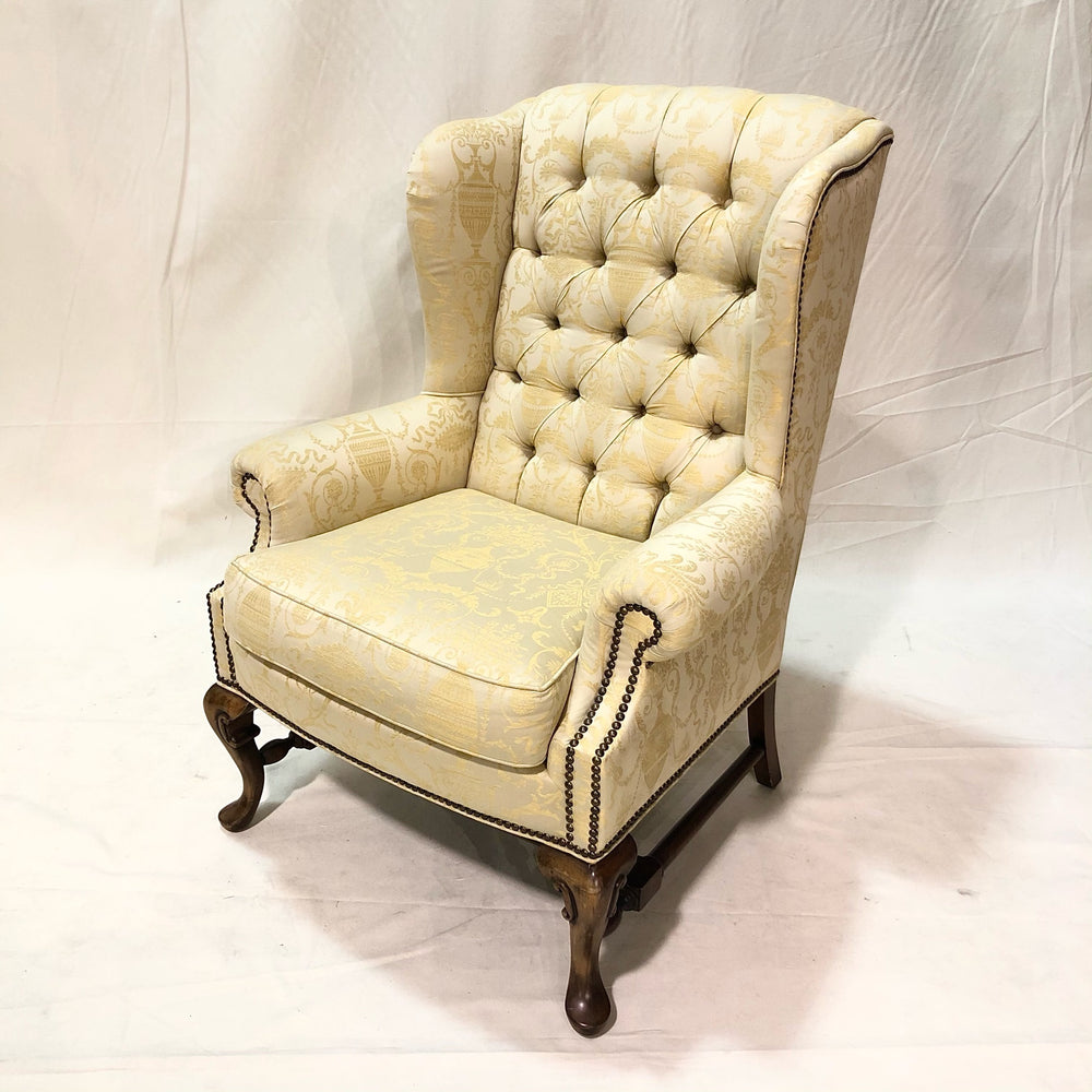COOPER BROS Tufted Wing Chair