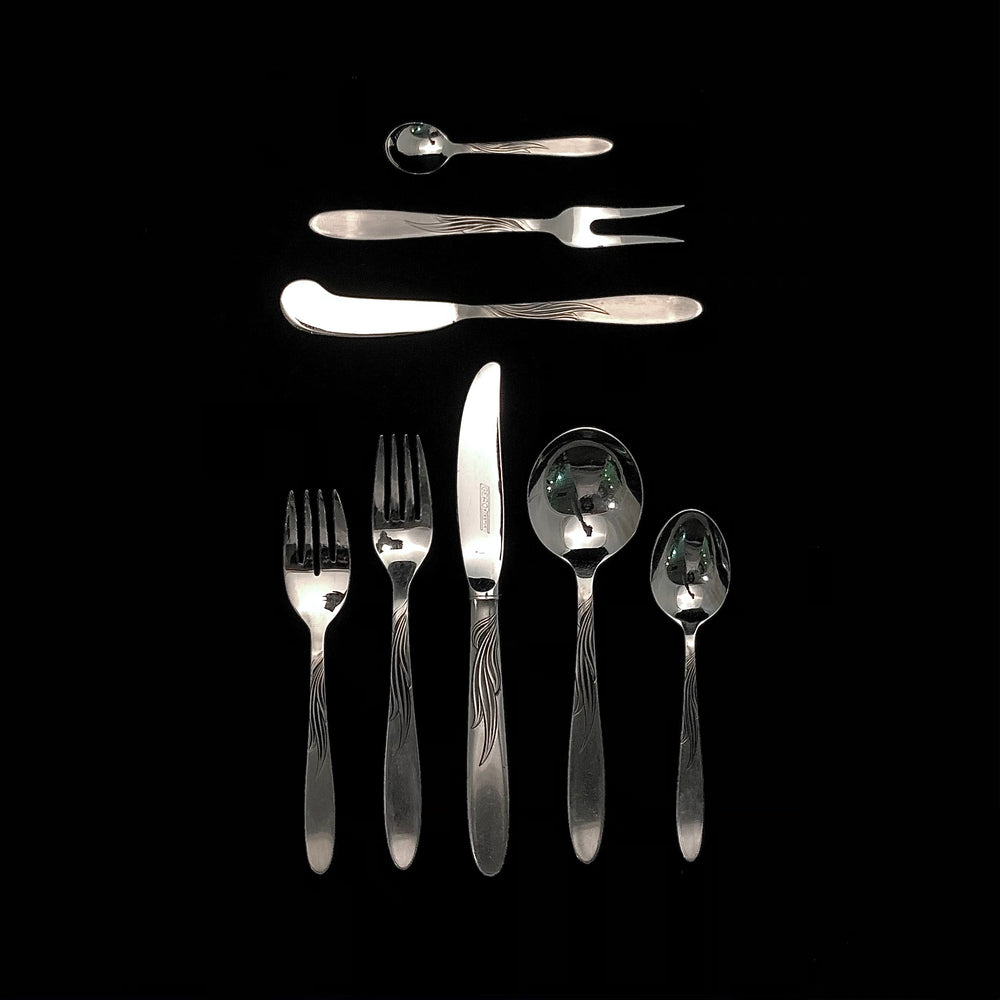 GERO Holland Stainless Steel Flatware - 12 Place Settings +