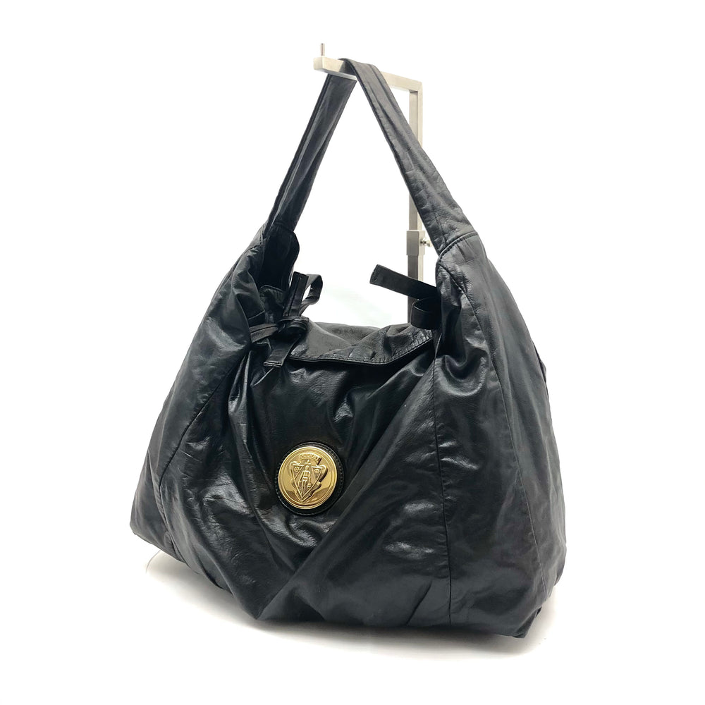 GUCCI Hysteria Hobo - Black Leather