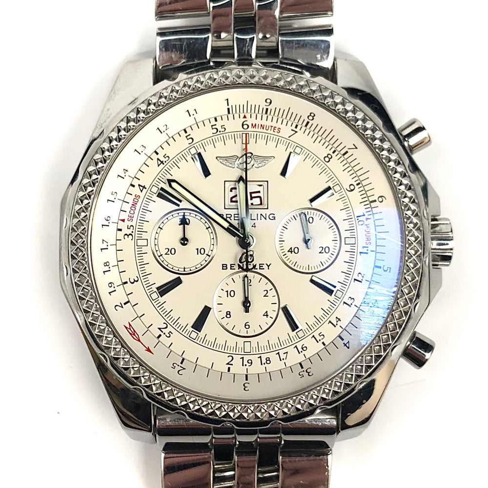 BREITLING 1884 Bentley Motors Stainless Steel Chronograph Watch