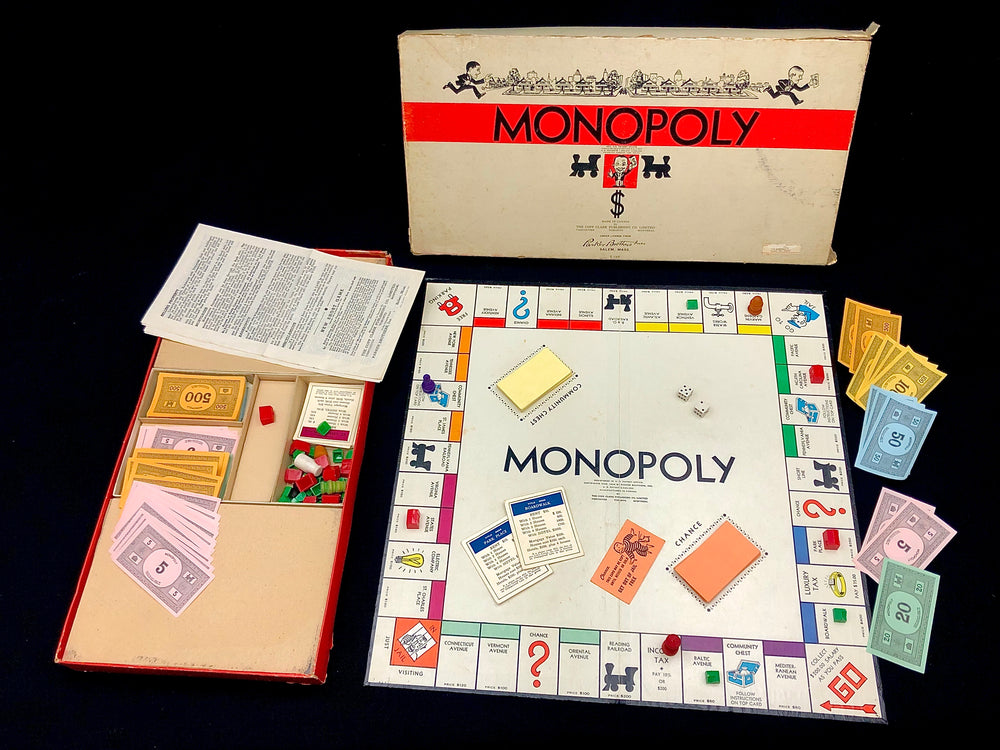 Load image into Gallery viewer, Vintage Monopoly Boardgame
