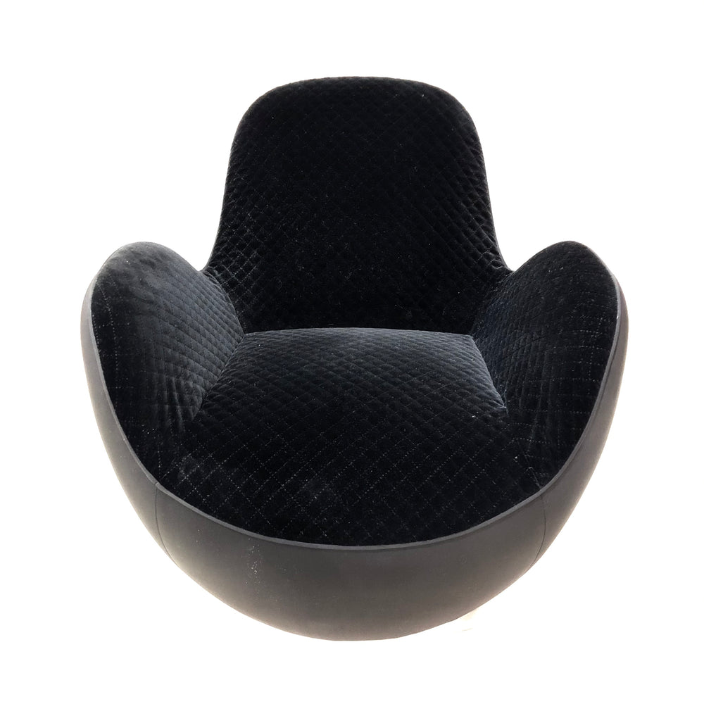 ROCHE BOBOIS PAIR Aircell Tub Chairs