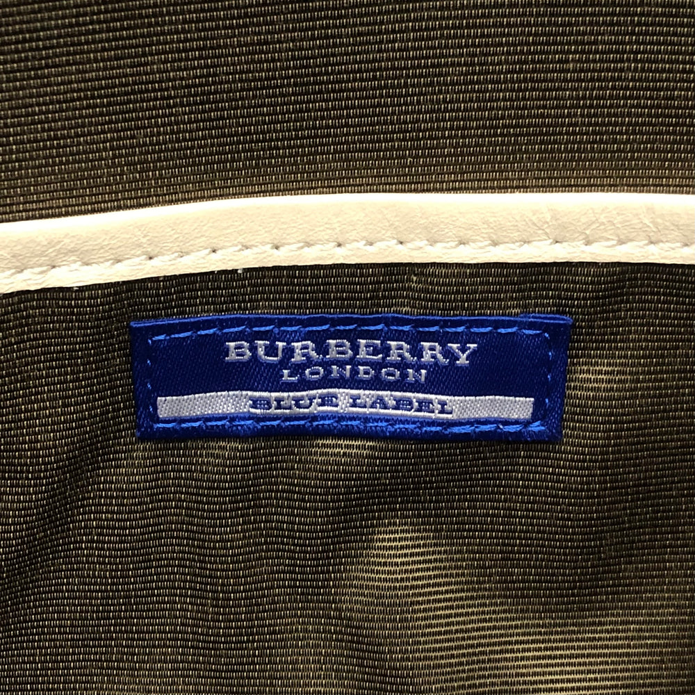 BURBERRY Tweed Nova Check Bag - Pink