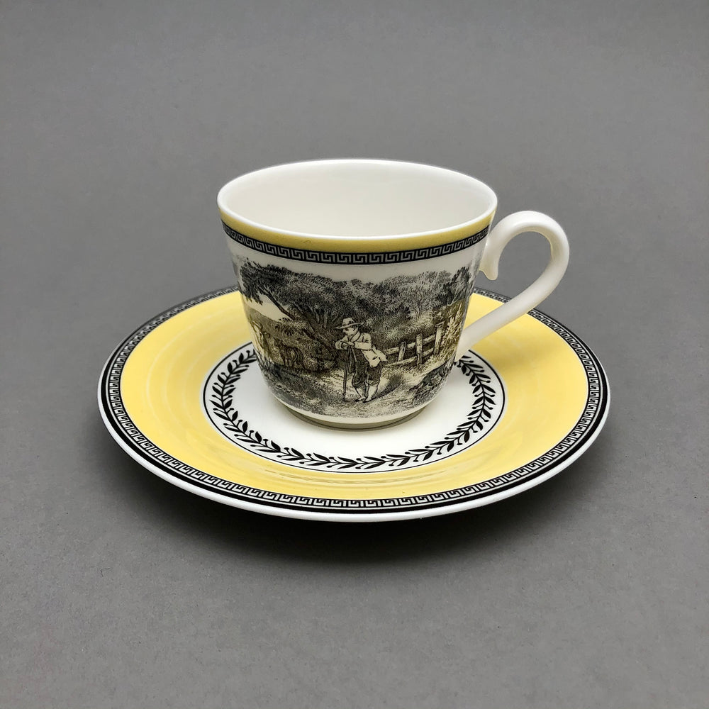 Load image into Gallery viewer, VILLEROY & BOCH Audun Cups & Saucers - 6