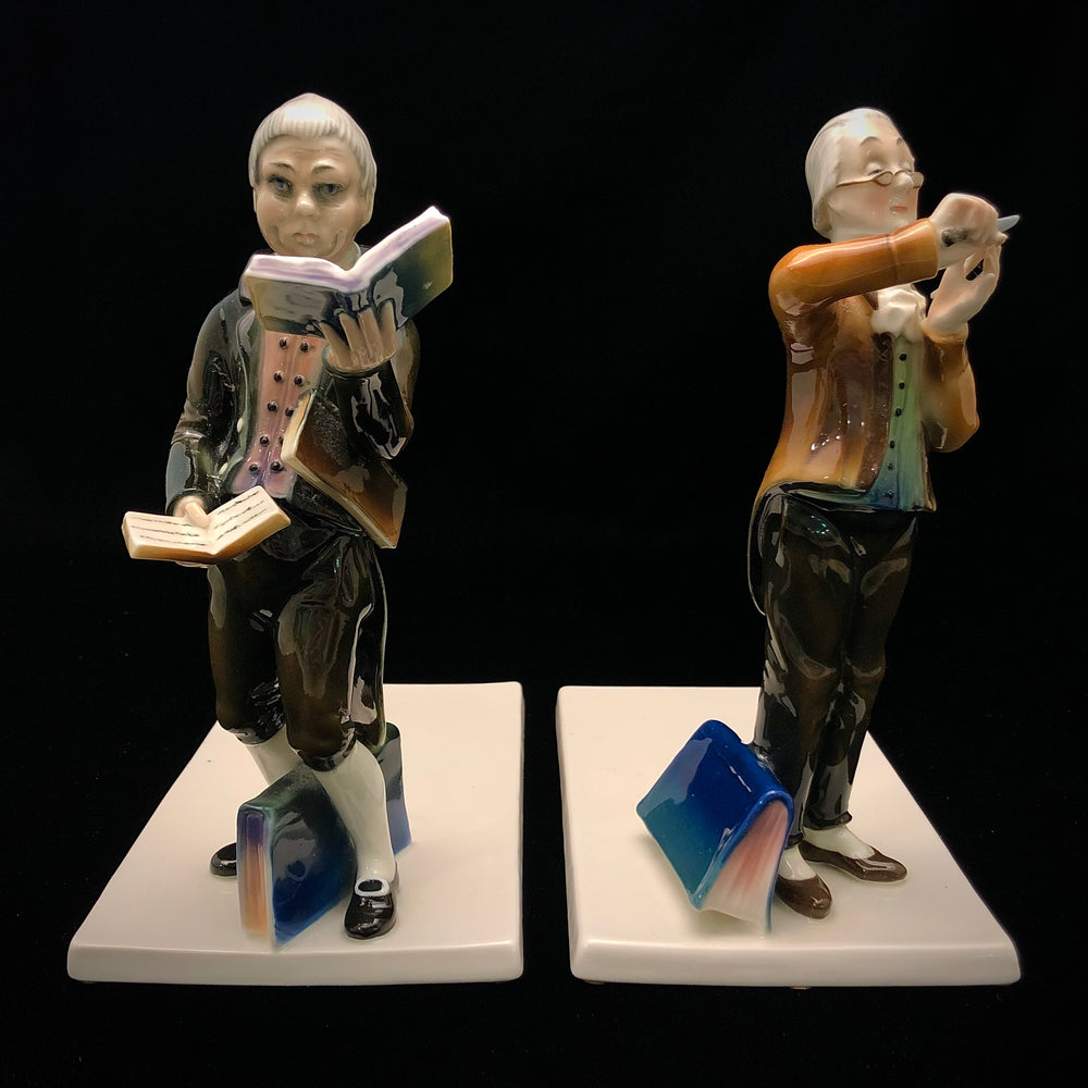 ENS Figural Bookends