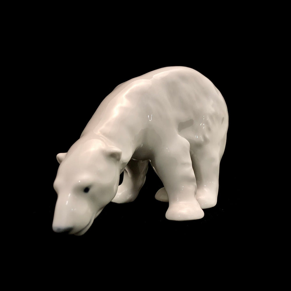 ROYAL COPENHAGEN Polar Bear Figurine