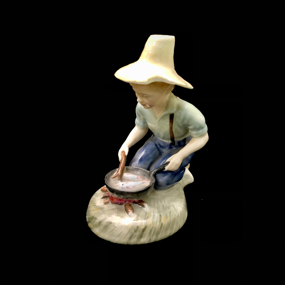 ROYAL DOULTON River Boy HN 2128 Figurine
