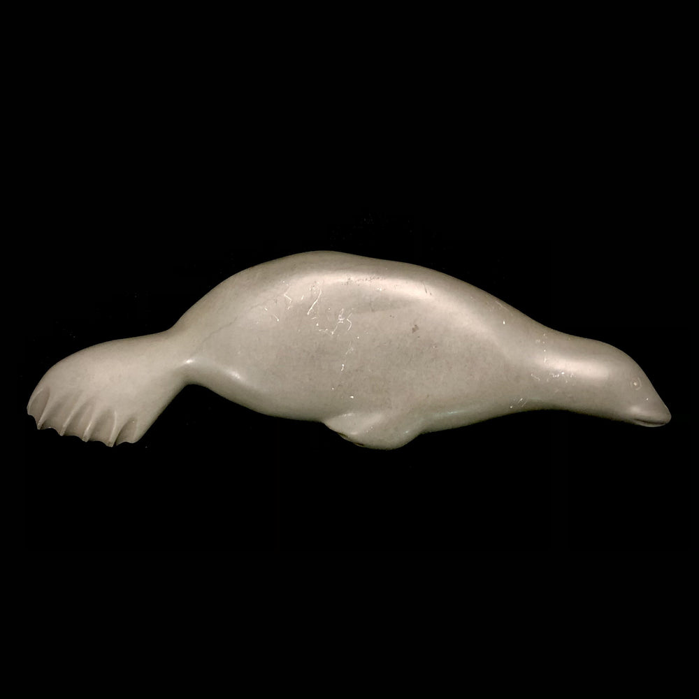 Inuit Stone Seal Sculpture