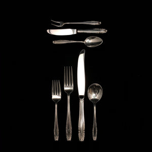 WALLACE Sterling Silver Stradivari Flatware - 11 Place Settings +