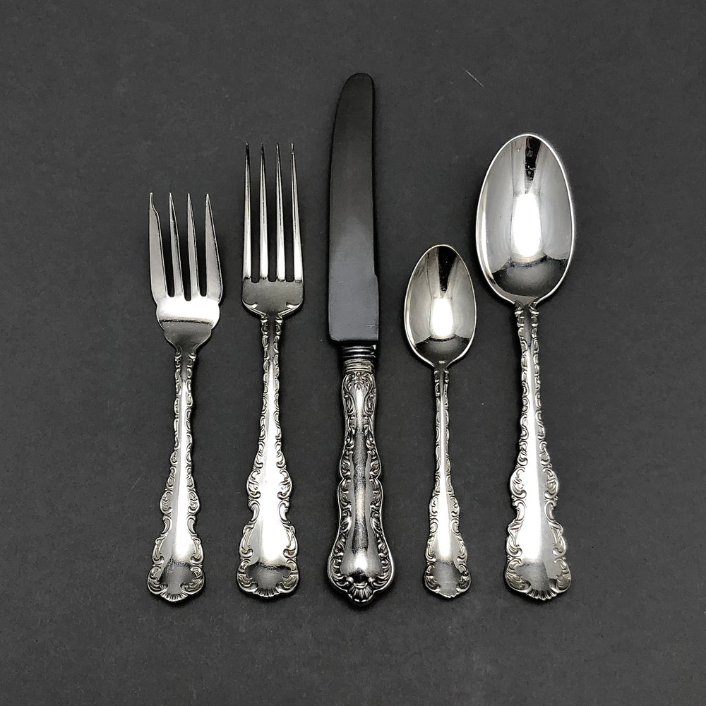 BIRKS Louis XV Sterling Silver - 8 Place Settings +