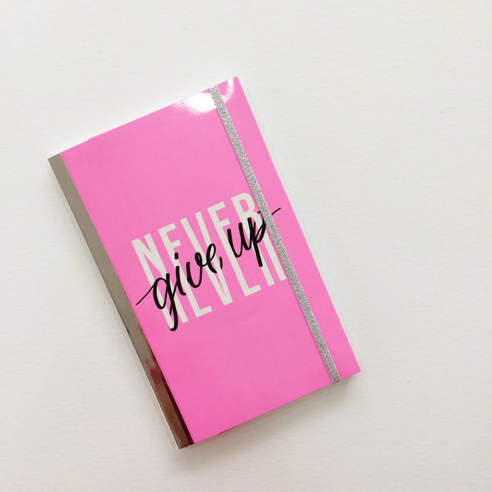 Never give up ♡