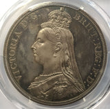 PCGS PR64CAM 1887 SILVER PROOF CROWN COIN