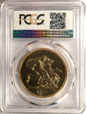 PCGS PR62 1911 GEORGE V PROOF GOLD FIVE POUND