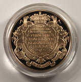2015 PRINCESS CHARLOTTE CHRISTENING PROOF GOLD FIVE POUND CROWN