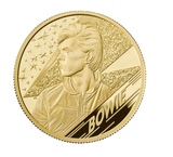 2020 DAVID BOWIE TWO OUNCE GOLD PROOF £200 COIN
