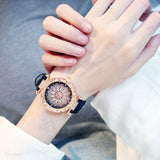 Women Starry Sky Watches Bracelet Set
