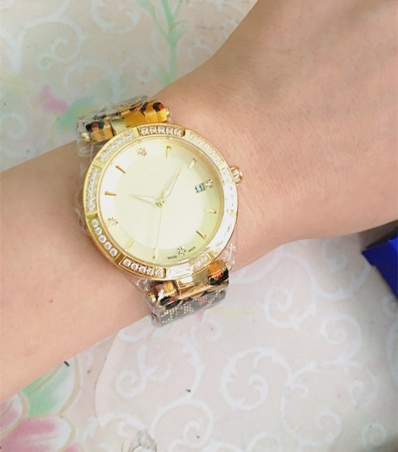Women's Darling Round Crystal Watch